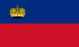Principality of Liechtenstein flag